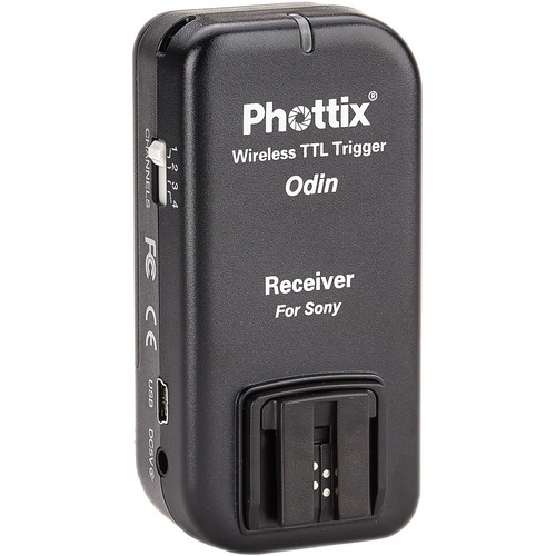 Phottix Odin Wireless TTL Receiver for Sony/Minolta