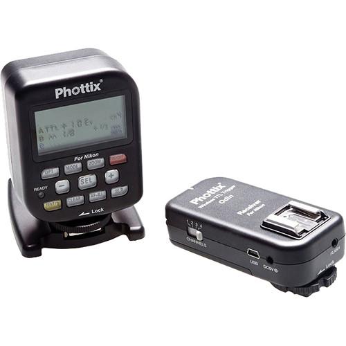 Phottix Odin Wireless TTL Trigger Set for Nikon
