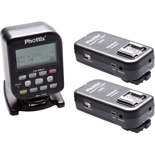 Phottix Odin Wireless TTL Trigger Set with Two Receivers for Nikon