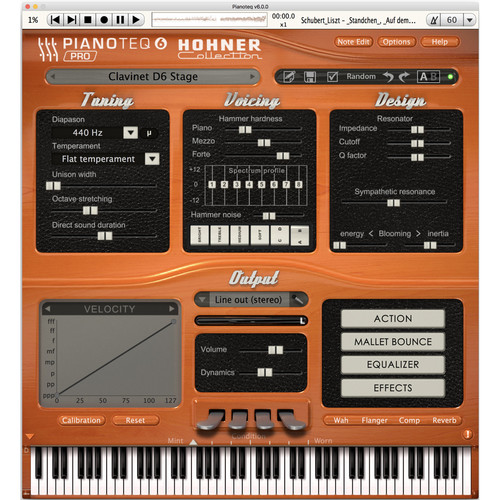 Pianoteq Hohner Collection 4 Vintage Virtual Instruments (Download)