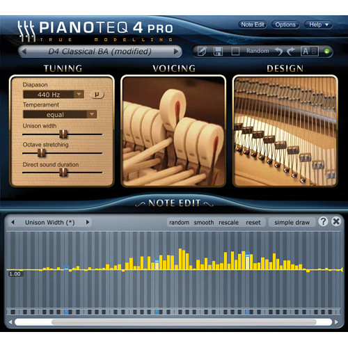 Pianoteq 4 Stage to 4 Pro Upgrade