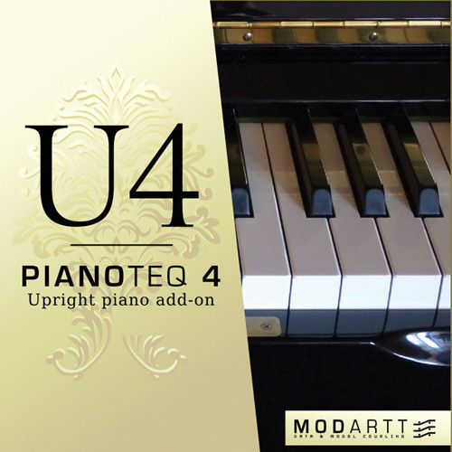 Pianoteq U4 Upright Piano Add-On - For Pianoteq Virtual Piano Software