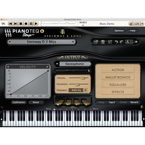 Pianoteq 6 Stage Edition Virtual Piano (Download)