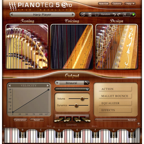 Pianoteq Concert Harp Add-On - For Pianoteq Virtual Piano Software