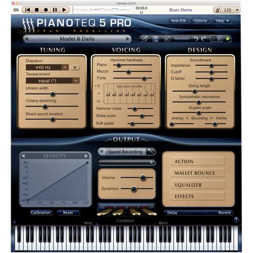 Pianoteq Model B Grand Piano Add-On - For Pianoteq Virtual Piano Software (Download)