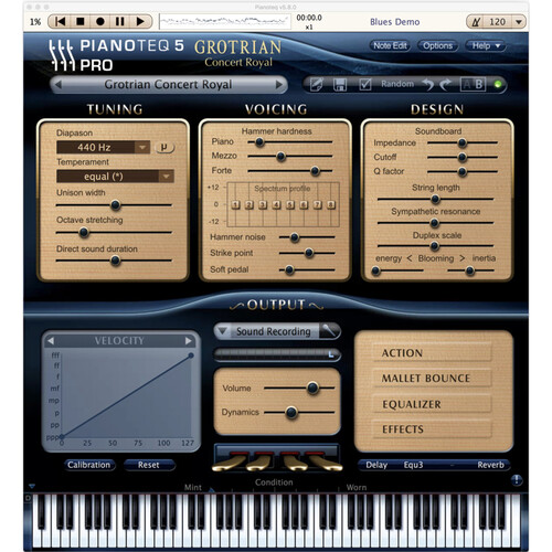 Pianoteq Grotrian Concert Royal Add-On - For Pianoteq Virtual Piano Software (Download)