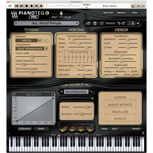 Pianoteq ANT. PETROF 275 Grand Piano - Instrument Pack for Pianoteq Virtual Piano Plug-In (Download)