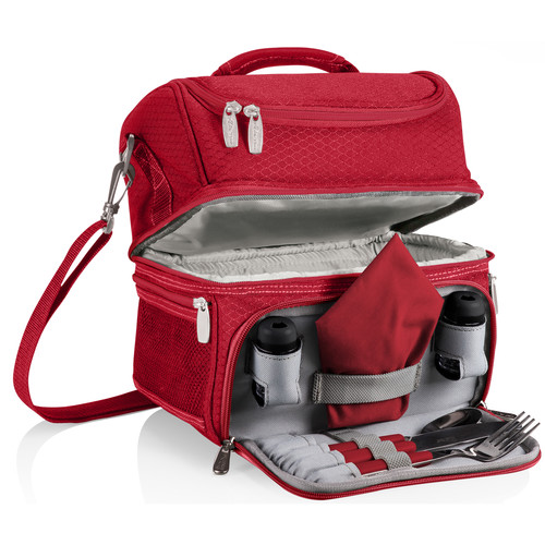 Picnic Time Pranzo Lunch Tote (Red)