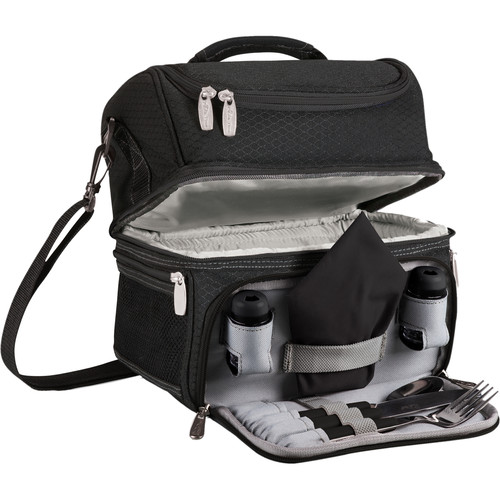 Picnic Time Pranzo Lunch Tote (Black)