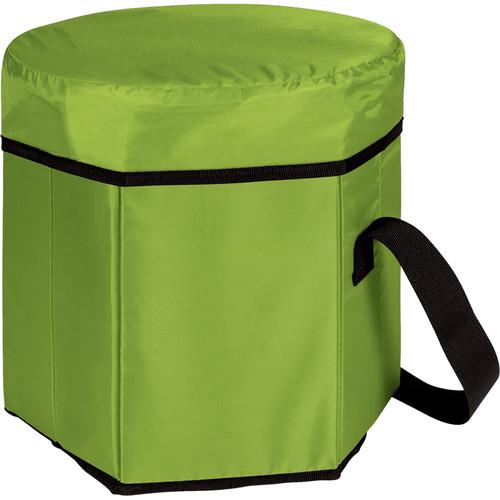 Picnic Time Bongo Cooler Tote & Seat (12 Quart, Lime)