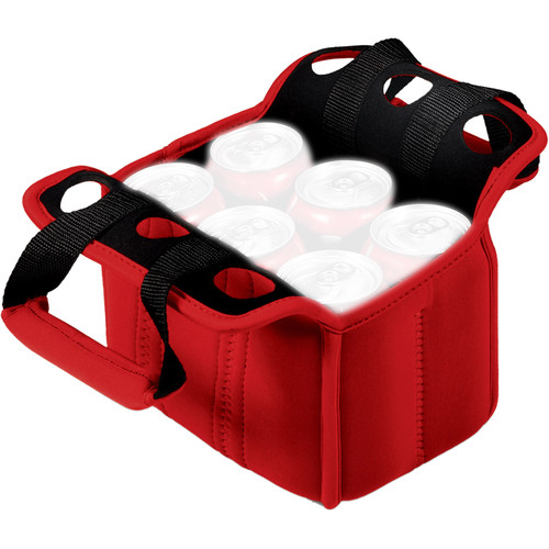 Picnic Time Six Pack Cooler Tote (Red)
