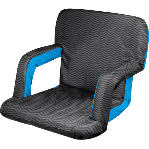 Picnic Time Ventura Recliner Seat (Wave Pattern)