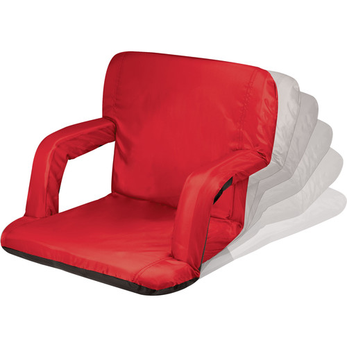 Picnic Time Ventura Recliner Seat (Red)