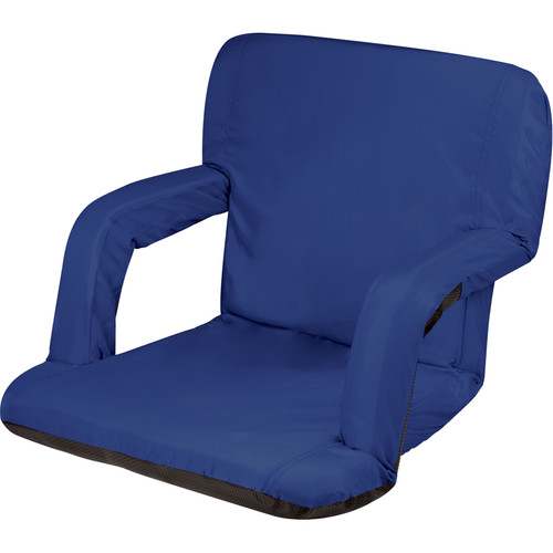 Picnic Time Ventura Recliner Seat (Navy)