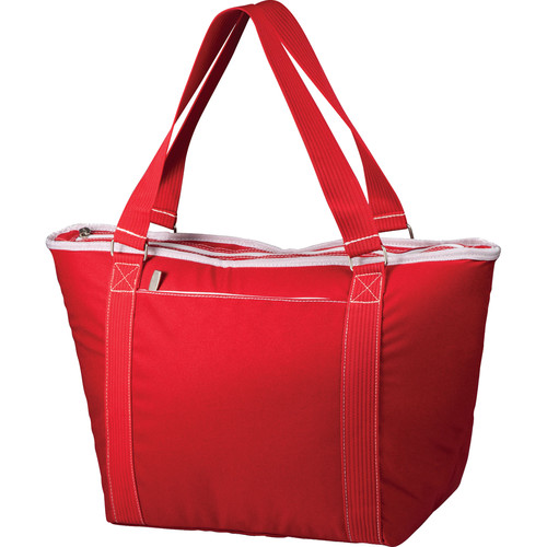 Picnic Time Topanga Cooler Tote (Red, 33L)