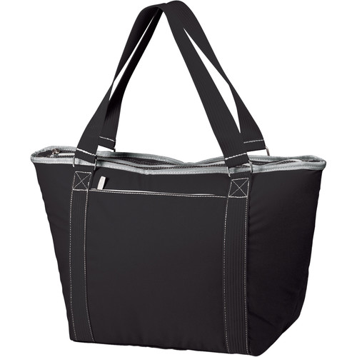Picnic Time Topanga Cooler Tote (Black, 33L)