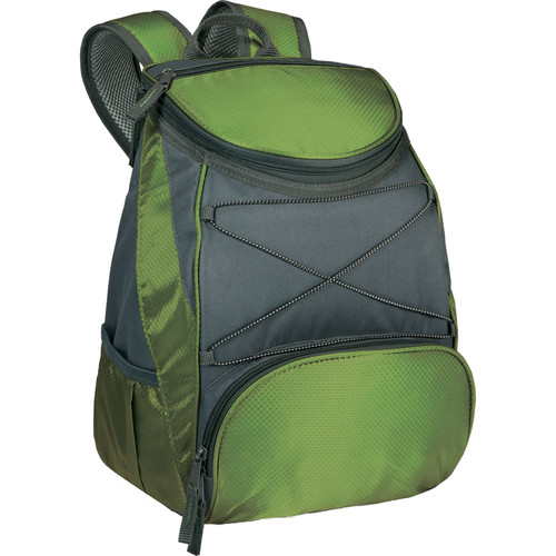 Picnic Time PTX Cooler Backpack (Leaf Green/Dark Gray, 13L)
