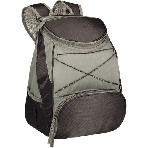 Picnic Time PTX Cooler Backpack (Black/Gray, 13L)