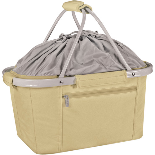 Picnic Time Metro Basket Cooler (Tan)