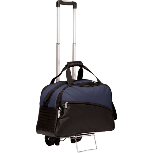 Picnic Time Stratus Cooler with Trolley (Navy)