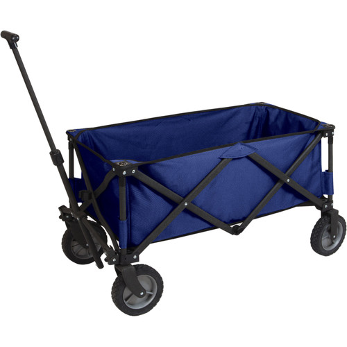 Picnic Time Adventure Folding Utility Wagon (Navy)
