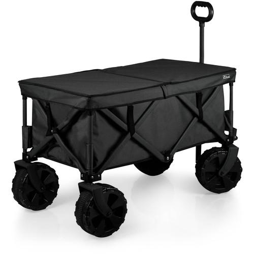 Picnic Time Elite All-Terrain Adventure Wagon (Black/Gray)