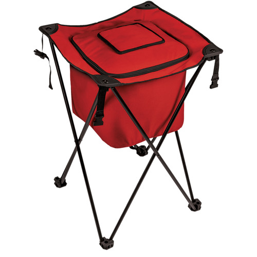 Picnic Time Sidekick Portable Cooler (Red, 32L)