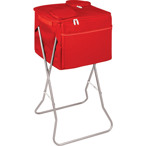 Picnic Time Party Cube Cooler (Red)