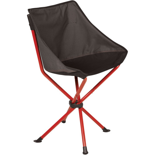 Picnic Time PT-Odyssey Portable Chair (Gray/Red)