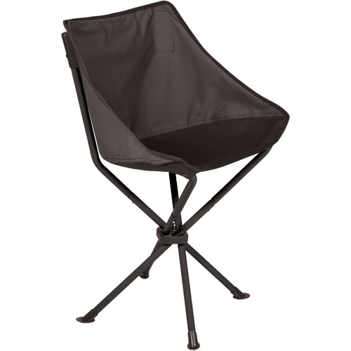 Picnic Time PT-Odyssey Portable Chair (Gray/Black)