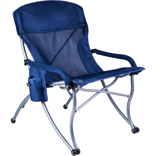 Picnic Time PT-XL Camp Chair (Navy)