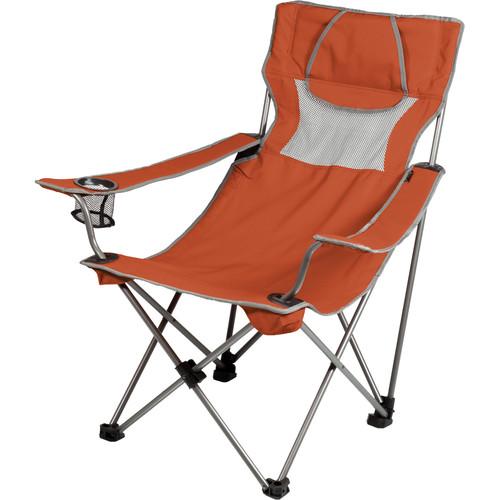 Picnic Time Campsite Chair (Burnt Orange/Gray)