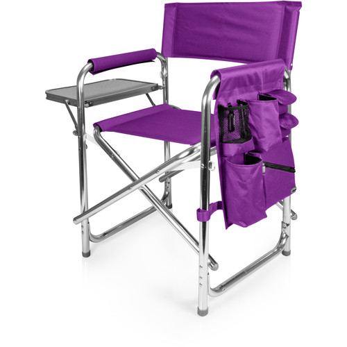 Picnic Time Sports Chair (Purple)