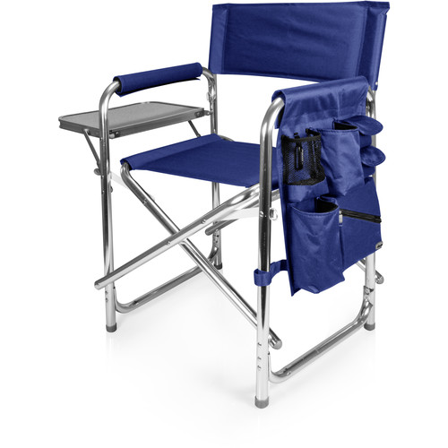 Picnic Time Sports Chair (Navy)