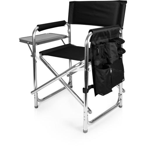 Picnic Time Sports Chair (Black)