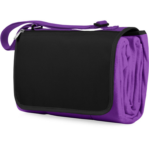 Picnic Time Blanket Tote (Purple)