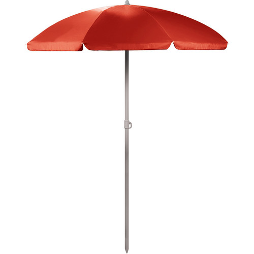 Picnic Time Portable Beach/Picnic Umbrella (Red)