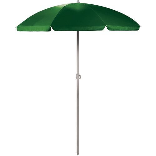 Picnic Time Portable Beach/Picnic Umbrella (Hunter Green)