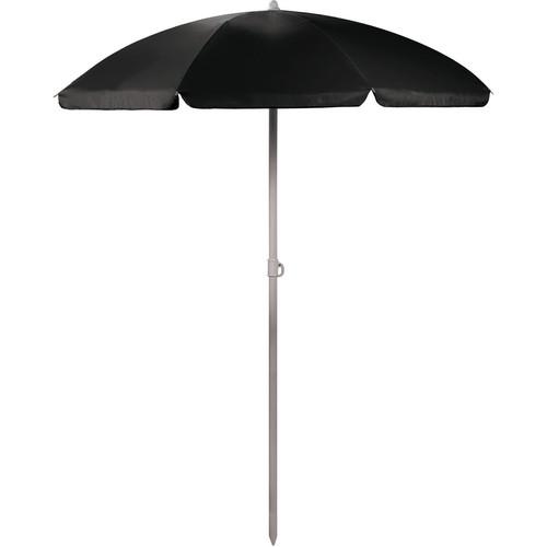 Picnic Time Portable Beach/Picnic Umbrella (Black)