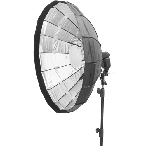 "Pictools Folding Beauty Dish with Grid and Speedlite Bracket (47.25"")"