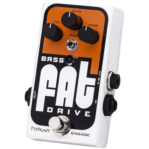 Pigtronix Bass FAT Drive - Tube Emulator and Overdrive Pedal