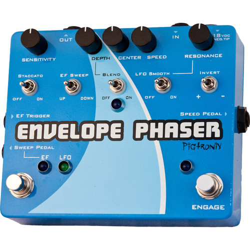 Pigtronix EP2 Envelope Phaser Pedal