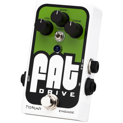 Pigtronix FAT Drive - Tube-Sound Overdrive Pedal