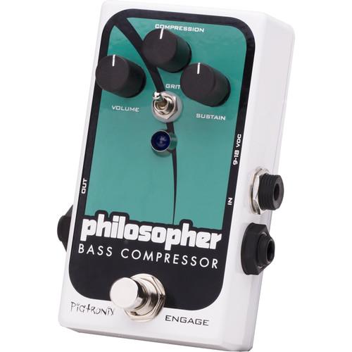 Pigtronix Bass Philosopher Compressor Pedal