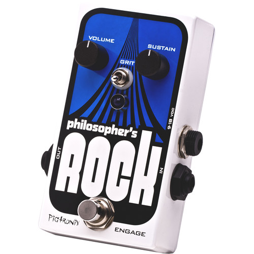 Pigtronix Philosopher's Rock Compressor/Sustain Pedal with Germanium Distortion