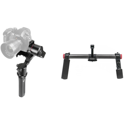 PFY H2-45 3-Axis Handheld Gimbal & 2-Hand Holder Bluetooth Kit