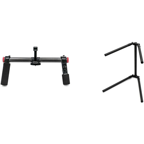 PFY 2-Hand Holder for H2 & T1 Gimbals with Bluetooth, Tuning Stand, and 4-Way Joystick