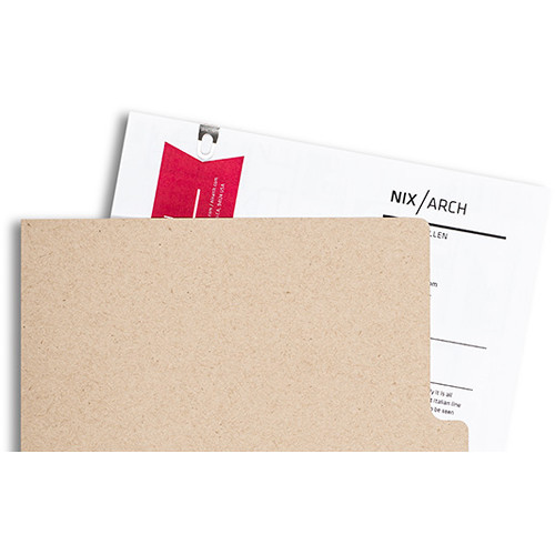 Pina Zangaro Open-Corner Sleeves (25-Pack, Kraft Brown)