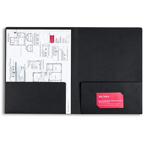Pina Zangaro Folders (25-Pack, Black)