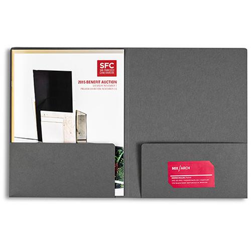 Pina Zangaro Folders (25-Pack, Dark Gray)